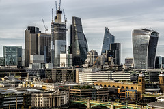 Ever Changing Skyline (devil=inside) Tags: london handphotography sony a77 architecture outdoors capital city building commerce
