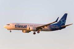 airtransat_737_c-gtqf_yeg (Lensescape) Tags: 2018 yeg boeing b737 737 airtransat cgtqf