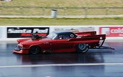 Thunderbird_1196 (Fast an' Bulbous) Tags: racecar drag car vehicle automobile fast speed power acceleration motorsport nikon outdoor santapod