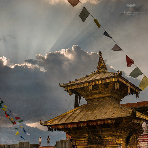 Asia / Nepal / Kathmandu / Swayambhunath
