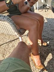 MyLeggyLady (MyLeggyLady) Tags: cfm sex hotwife milf sexy secretary teasing upskirt minidress thighs pumps stiletto legs heels