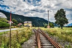 LAB_0691 (Hans-Peter Kurz) Tags: railway railroad reisen railscape eisenbahn zug train transport austria österreich outdoor gailtalbahn betriebs gmbh gailtal verein kärnten eingestellt stillgelegt reaktivierung bahnhof rattendorf jenig