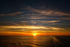 Bliss (alan.irons) Tags: sunset cloudsstormssunsetssunrises irishsea cruise cruising bliss calm clouds