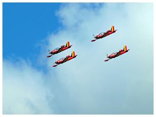 Red Devils SIAI Marchetti SF260 - Aerobatic Team