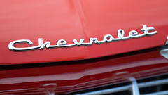Chevrolet (jasohill) Tags: view spring rear color mirror nature metallic city chevrolet refecltions red hachimantai car life abstract 2018 lensflare japan photography