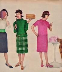 McCall's 1961 (barbiescanner) Tags: vintage retro fashion vintagefashion 60s 60sfashions 60sadvertising 1960s 1960sfashions 1960sadvertising 1961 vintageadvertising seventeen mccalls