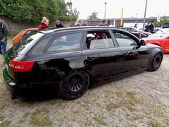 Audi A6 Avant (911gt2rs) Tags: treffen meeting show event tuning tief low stance slammed custom howdeep kombi wagon c6 schwarz black s6 airride fahrwerk airlift