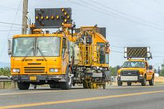 Striping team (OregonDOT) Tags: striping painting maintenance roadstriping oregondot oregon odot