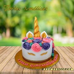 tortas unicornio (Aromaricce) Tags: tortas personalizadas cupcakes infantiles para cumpleaños niños niñas regalar sopresas fiestas lima peru mejores unicornio