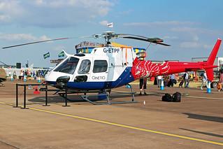 QinetiQ AS350/H125 G-ETPF