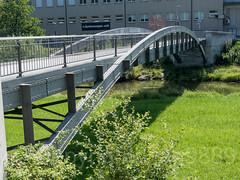 SIH610 Hoeckler Pedestrian Bridge over the Sihl River, Zurich Wollishofen, Canton of Zurich, Switzerland (jag9889) Tags: 2018 20180714 archbridge bach bridge bridges bruecke brücke ch cantonzurich cantonofzurich crossing europe fluss footbridge fussgängerbrücke gkz577 helvetia infrastructure kantonzürich kreis2 limmattributary outdoor pedestrianbridge pont ponte puente punt river schweiz sihl sihltal span stream structure suisse suiza suizra svizzera swiss switzerland wasser water waterway wollishofen zh zurich zürich jag9889