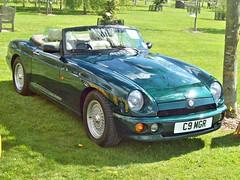 656 MG RV8 (1994) (robertknight16) Tags: mg british 1990s rv8 sportscar bl rover alrewas c9mgr