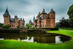 Rainy days (sconi piladi) Tags: kasteel de haar tokina 1735 castle utrecht clouds longexprosure park holland nederland netherlands