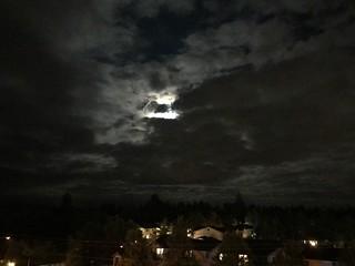 moon last night
