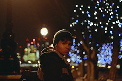 London (TheJennire) Tags: photography fotografia foto photo canon camera camara colours colores cores light luz young tumblr indie teen adolescentcontent people portrait 2017 london england uk winter cold bokeh xmas christmas christmaslights night 50mm city europe trip