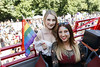 Liz Downey and Alana O'Sullivan pictured on the Mamma Mia! Here We Go Again float at this year's Dublin Pride Parade, Saturday June 30th. Picture Andres Poveda