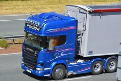 70 HYS (panmanstan) Tags: scania r730 bluestream wagon truck lorry commercial freight transport haulage vehicle a1m fairburn yorkshire