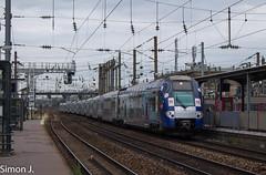 13111 Paris St Lazare - Rouen Rive Droite (bb_17002) Tags: railway train locomotive automotrice landscapes ville city transport z26500 intercités normandie sncf rouen paris