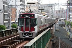 Nishitetsu 9105, Nishitetsu Hirao (Howard_Pulling) Tags: japan rail railway zug bahn train trains trainsinjapan japanese howardpulling photo picture gare