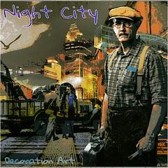 Night City   Decoration Art  夜中の都会で働く人々を、編集加工しました。 (nodasanta) Tags: instagramapp square squareformat iphoneography uploaded:by=instagram ludwig