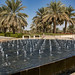 Fountain at outer entrance, Sheikh Zayed Mosque, Abu Dhabi