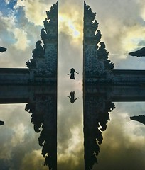 Let me fly away (somabiswas) Tags: lempuyang temple bali indonesia mirror reflections drama erseting