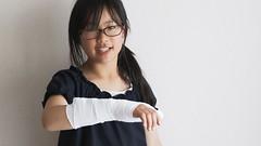 SAKURAKO - Broken wrist! (MIKI Yoshihito. (#mikiyoshihito)) Tags: sakurako 櫻子 さくらこ 娘 daughter サクラコ 長女 9歳8ヶ月 broken wrist brokenwrist 骨折