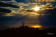 Northcape (kjellbendik) Tags: 06juni 2018 6d canon eos junejuni norge barentsregionen finnmark flickr globus himmel kjellbendikgmailcom magerøya midnattsol mnd naturoglandskap nordkapp nordnorge northnorway sky sol sun year