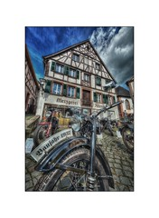 Old Germany-Ottweiler (pierreiwanski) Tags: hdr ottweiler germany allemagne moto bike saarland