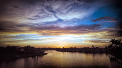 Golden Blue (MACH1N3) Tags: aerial drone sunset northamerica goldenhour thinkfastphotography florida outdoors timeofday unitedstates weather southflorida clouds