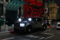 2017 Ford Explorer Police Utility (sponki25) Tags: nypd police ford explorer utility suv legonyc new york city lights car lifelites moc lego