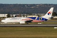 9M-MXS Malaysia Airlines Boeing B737-8H6 (johnedmond) Tags: perth ypph westernaustralia malaysia b737 b737800 australia aviation aircraft aeroplane airplane airliner plane sel55210 55210mm ilce3500 sony
