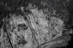 the 22 tons trail (Toni_V) Tags: m2408144 rangefinder digitalrangefinder messsucher leicam leica mp typ240 type240 35lux 35mmf14asphfle summiluxm hiking wanderung randonnée escursione suspensionbridge hängebrücke fieschertal wysswasser aspititter alps alpen bw monochrome schwarzweiss blackwhite sep2 silverefexpro2 niksoftware wallis valais oberwallis goms switzerland schweiz suisse svizzera svizra europe niederwaldbellwaldburghüttemärjelenseefiesch ©toniv 2018 180623