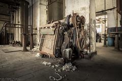 Sheepeater (Dennis van Dijk) Tags: urbex urban exploration industry industrial factory machine wool washing usine belgium eu ue europe abandoned decay derelict beauty dust rust bygone era old lost found