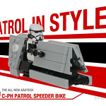 C-PH Patrol speeder from Solo: A Star Wars Story thumbnail