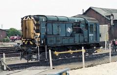 09001 at Hereford (TutorJohn72) Tags: class 09 diesel locomotive 1990 hereford station
