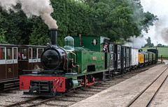 Statfold Barn Railway - June 2018 04 (brianaw2010) Tags: railway steam statfold barn locomotive isibutu