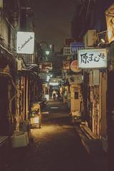 Midnight at the Golden Gai (Mike Kniec) Tags: goldengai shinjuku japan sign alley tokyo sony sonya7 walkinginthegoldengai shinjukutokyo