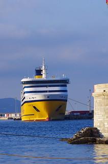 514 - Bastia à travers le Port