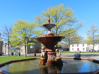 Fochabers Fountain, Fochabers, Morayshire, April 2018