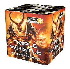 TRIPLE WHISTLE 25 SHOT - NEW SONIC EFFECT FOR 2018 #EpicFireworks (EpicFireworks) Tags: triple whistle 25 shot new sonic effect for 2018 epicfireworks