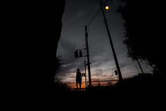 20180703 sunrise (soyokazeojisan) Tags: japan street sunrise clouds city people morning walk digital olympus em1markⅱ 714mm 2018