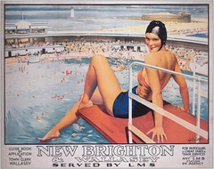 Brighton Your Day? (Feversham Media) Tags: railwayposters lms newbrighton wirral wallasey septimusescott londonmidlandscottishrailway