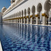 Reflecting pool and columns, Sheikh Zayed Mosque, Abu Dhabi