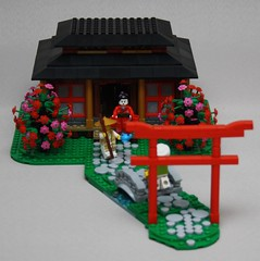 The Lotii tea house (Beorthan) Tags: bobs eurobricks lego corrington moc portraleigh