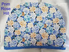 Imperial floral dynasty tea cozy (Prim*Rose*Hill) Tags: floral carnations mums tea cozy cosy blue