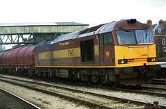 60083 at Hereford (TutorJohn72) Tags: class 60 diesel 1999 hereford station