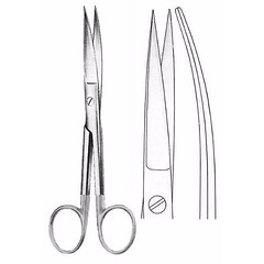 Standard Operating Scissors 16.5 cm , Sharp/Sharp, Curved, Tungsten Carbide TC (jfu.industries) Tags: carbide curved general health healthcare hospital industries instruments jfu medical operating pakistan scissors sharp standard surgery surgical surgicalinstruments tc tungsten