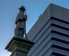 Confederate Soldier Monument (Shawn Blanchard) Tags: columbia south carolina sc downtown sky building architecture statue art soldier state capital