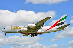EMIRATES AIRLINES, AIRBUS A380 (High Quality Plane Spotting) Tags: planespotting planespotters myrtleavenue ga awesome heathrow airport